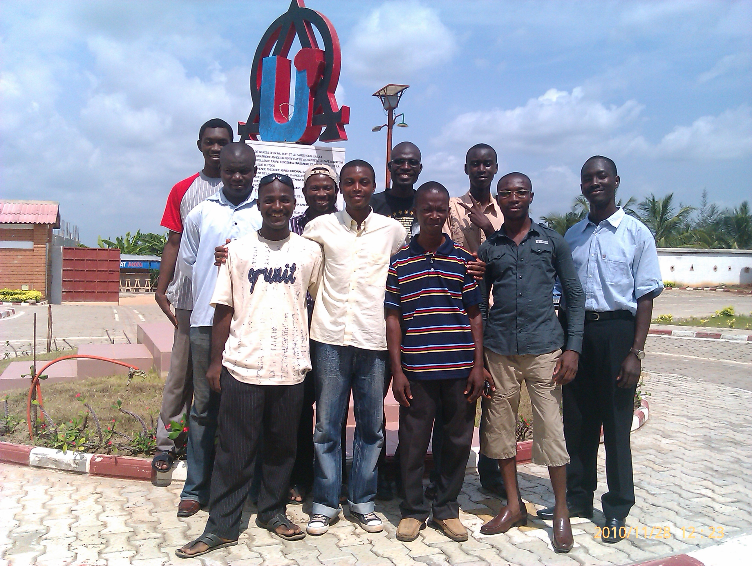 A group from lome, Togo