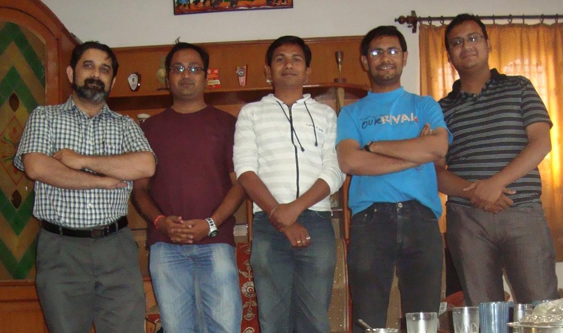 Tushar Joshi, Atul Palandurkar, Shwetal Bahadure, Harshal Potliya, Rahul Raja