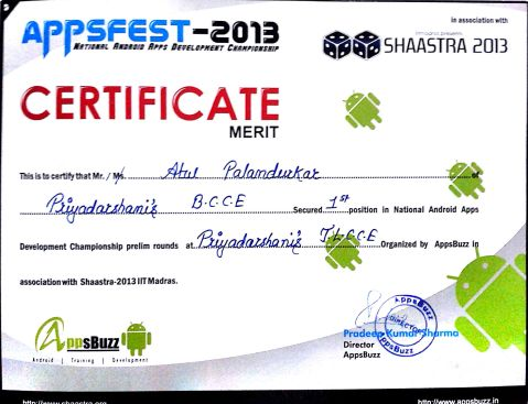 National Android Apps Development Championship