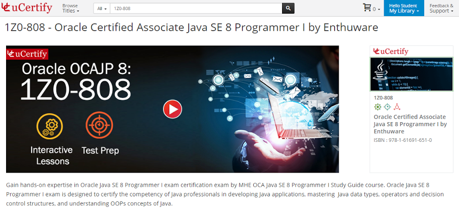Java SE 8 Certification | Aatul Palandurkar
